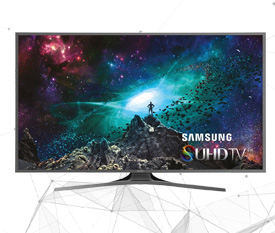 Samsung SUHD 4K Curved Smart TV 88